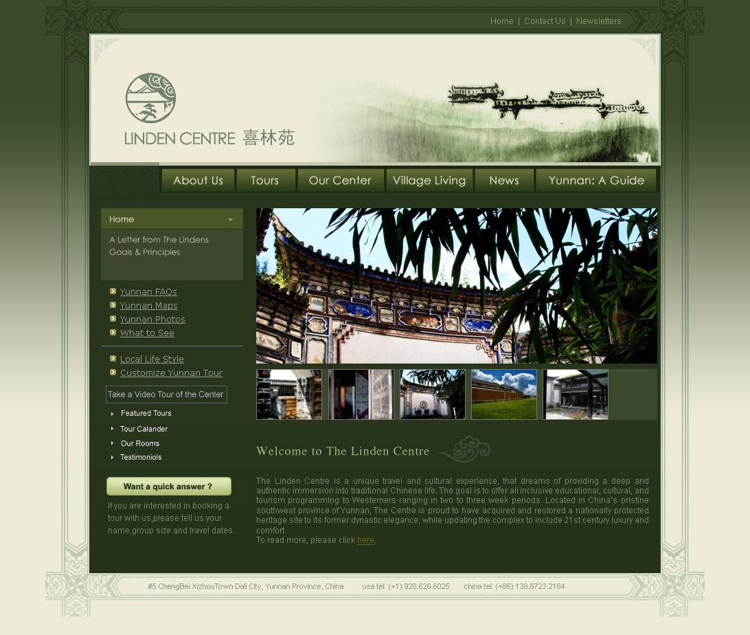 Lindens Web Design D